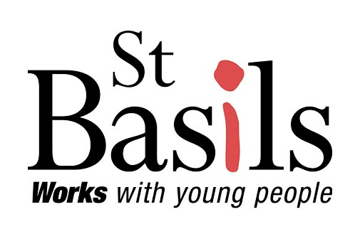Saint Basils Logo Black Red